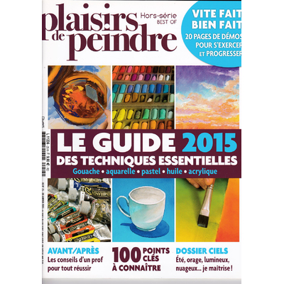 Revue Plaisirs de peindre - Hors série N°25- Best of