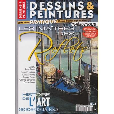 Revue Dessins & peintures N°72 - Les maîtres des reflets