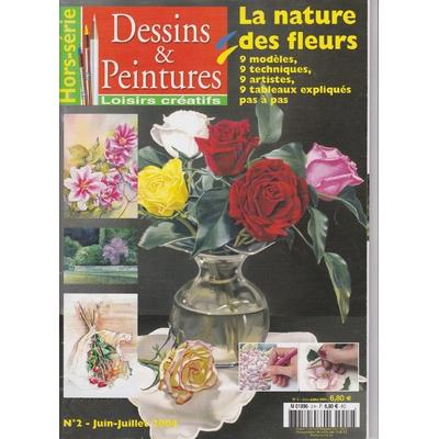 Revue Dessins & peintures - Loisirs Créatifs N°2 - La nature des fleurs
