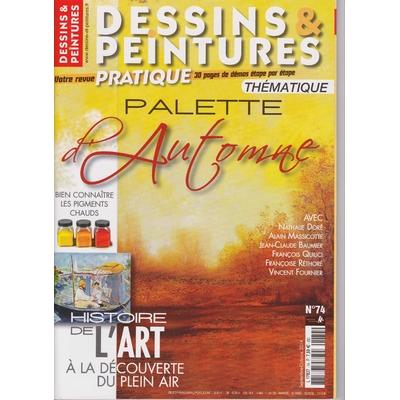 Revue Dessins & peintures N°74 - L'automne
