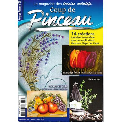 Magazine coup de pinceau N°38 - 2013