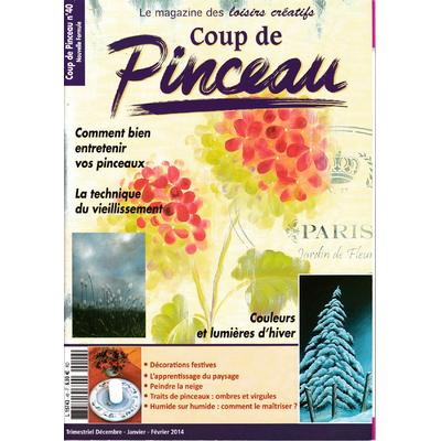 Magazine coup de pinceau N°40 - 2014