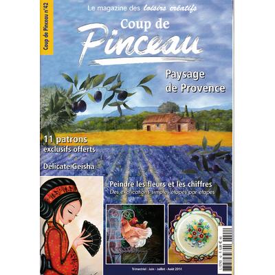 Magazine coup de pinceau N°42 - 2014
