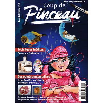 Magazine coup de pinceau N°49 - 2015