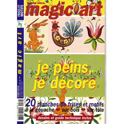 Revue Magic Art N°24 - je peins je décore -  spécial frises & motifs