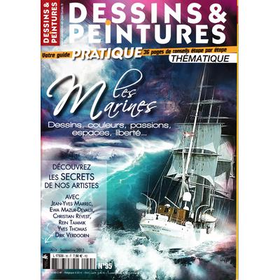 Revue Dessins & Peintures - N° 35 - Les marines