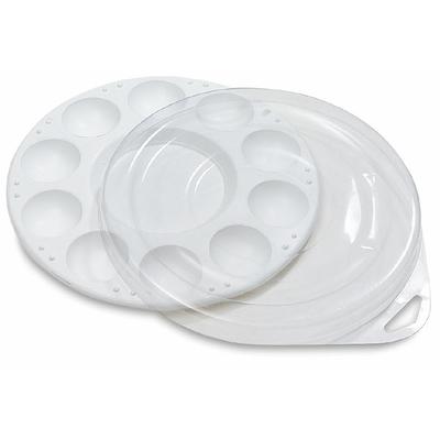 Palette plastique 10 alvéoles avec couvercle - Loew Cornell