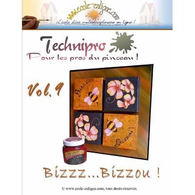 Bizzz...Bizzzou - Techniques mixtes - Technipro Vol 9