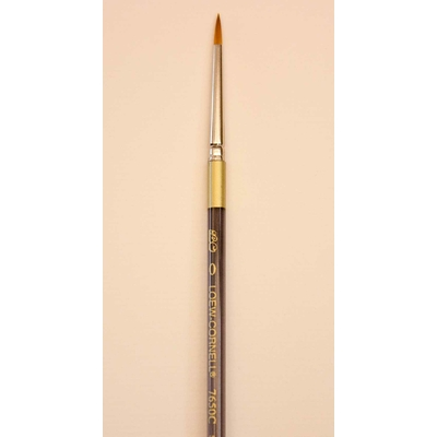 "Pinceau rond ""spotter"" (retouche) - Loew Cornell - 7650C-0"