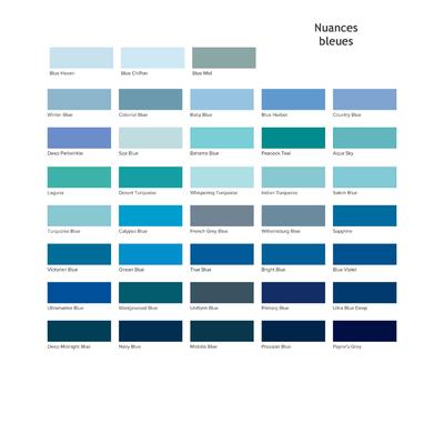 Americana-nuances-bleues