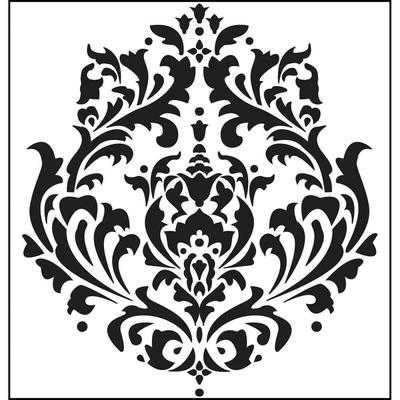 Pochoir motif mini Brocade - 15x15cm - TCW