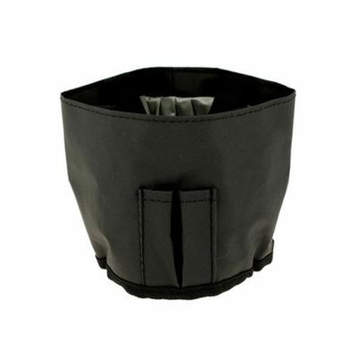 Lave Pinceaux en nylon noir avec anses