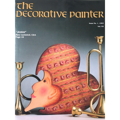 Magazine The decorative Painter - 1992 N°1