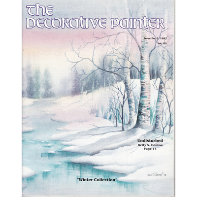 Magazine The decorative Painter - 1992 N°6