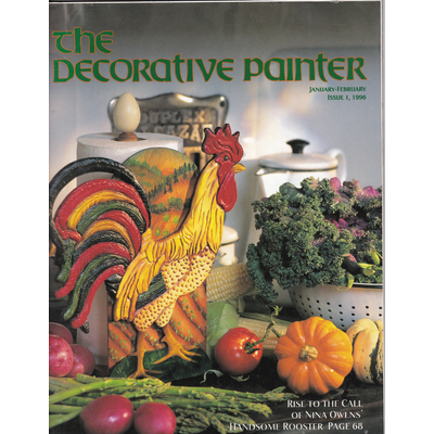 Magazine The decorative Painter - 1996 N°1