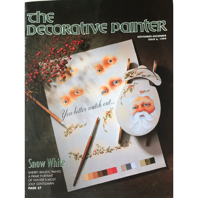 Magazine The decorative Painter - 1999 N°6