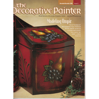 Magazine The decorative Painter -2000 N°6