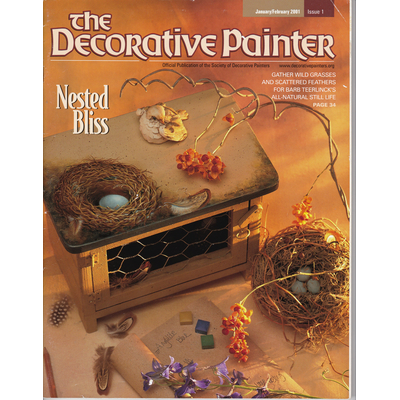 Magazine The decorative Painter -2001 N°1