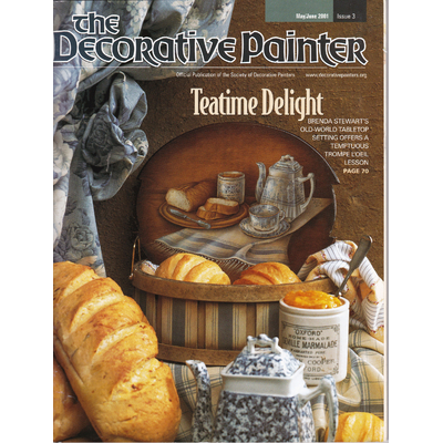 Magazine The decorative Painter -2001 N°3