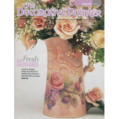 Magazine The decorative Painter -2001 N°4