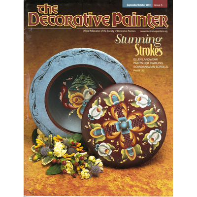 Magazine The decorative Painter -2001 N°5