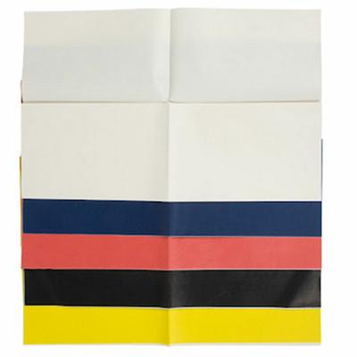 Papier carbone pour broderie et autres loisirs créatifs - 5 feuilles couleurs assorties - 42x54cm