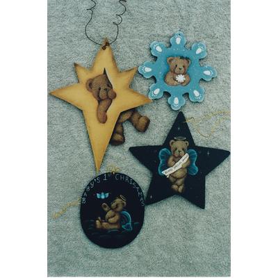 Teddy ornaments - Annette Fernandez