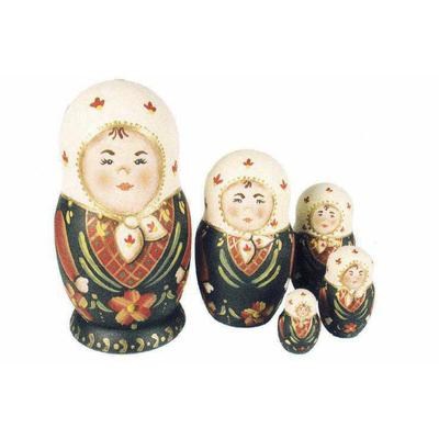 Poupées russes (Matriochkas) - L'atelier d'Anne-Marie