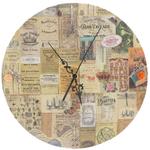 support rond pour horloge 30cm