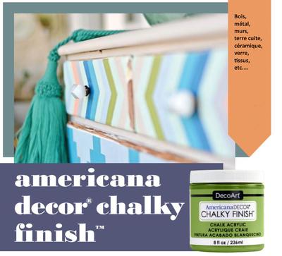 americana decor chalky fnish