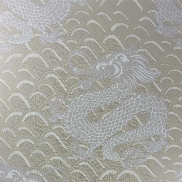 Papier peint celestial dragon papiers peints par for Papier peint motif chinois
