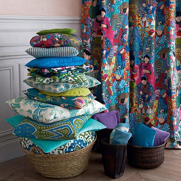 tissu voyage en chine enfants tissus le boudoir des etoffes. Black Bedroom Furniture Sets. Home Design Ideas