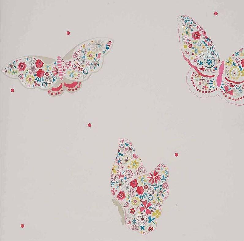 Papier peint voltige toutes les collections enfants for Papel vinilico infantil