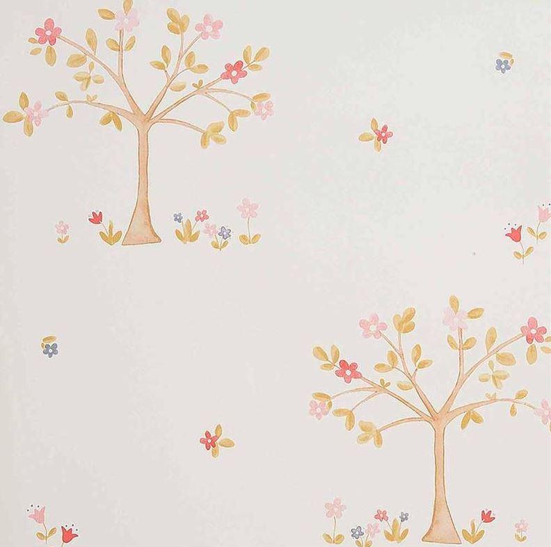 papier peint arbre enfants papiers peints le boudoir des etoffes. Black Bedroom Furniture Sets. Home Design Ideas