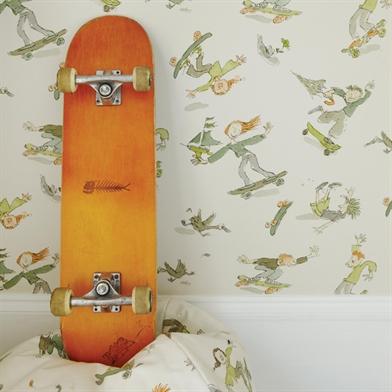 papier-peint-enfant-osborne-and-little-zagazzo-skateboarders-visuel-1