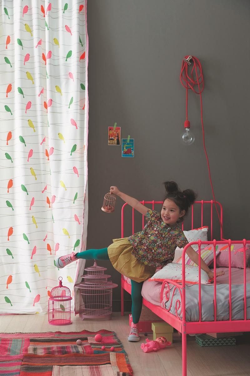 tissu-moineau-visuel-collection-enfant-summer-camp-camengo