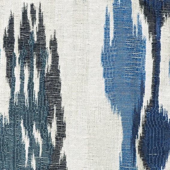 Christian fischbacher ikat bleu