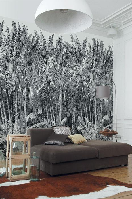 papier peint panoramique arbre du voyageur papiers. Black Bedroom Furniture Sets. Home Design Ideas