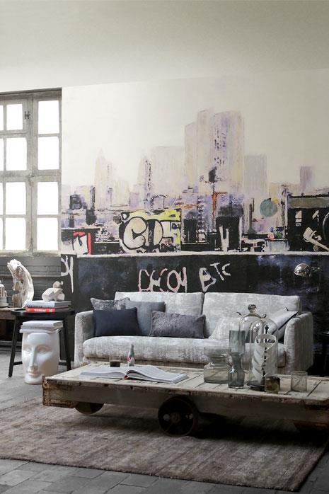 Bronx-afternoon-papier-peint-tendance-urbaine-casamance