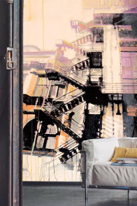 Usine-thriller-papier-peint-decoration-insutrielle