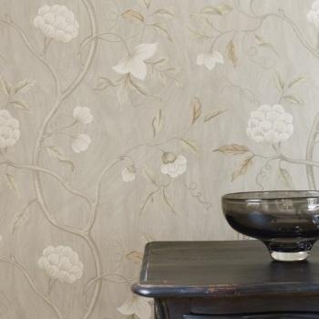 papier-peint-classique-fleurs-snow-tree
