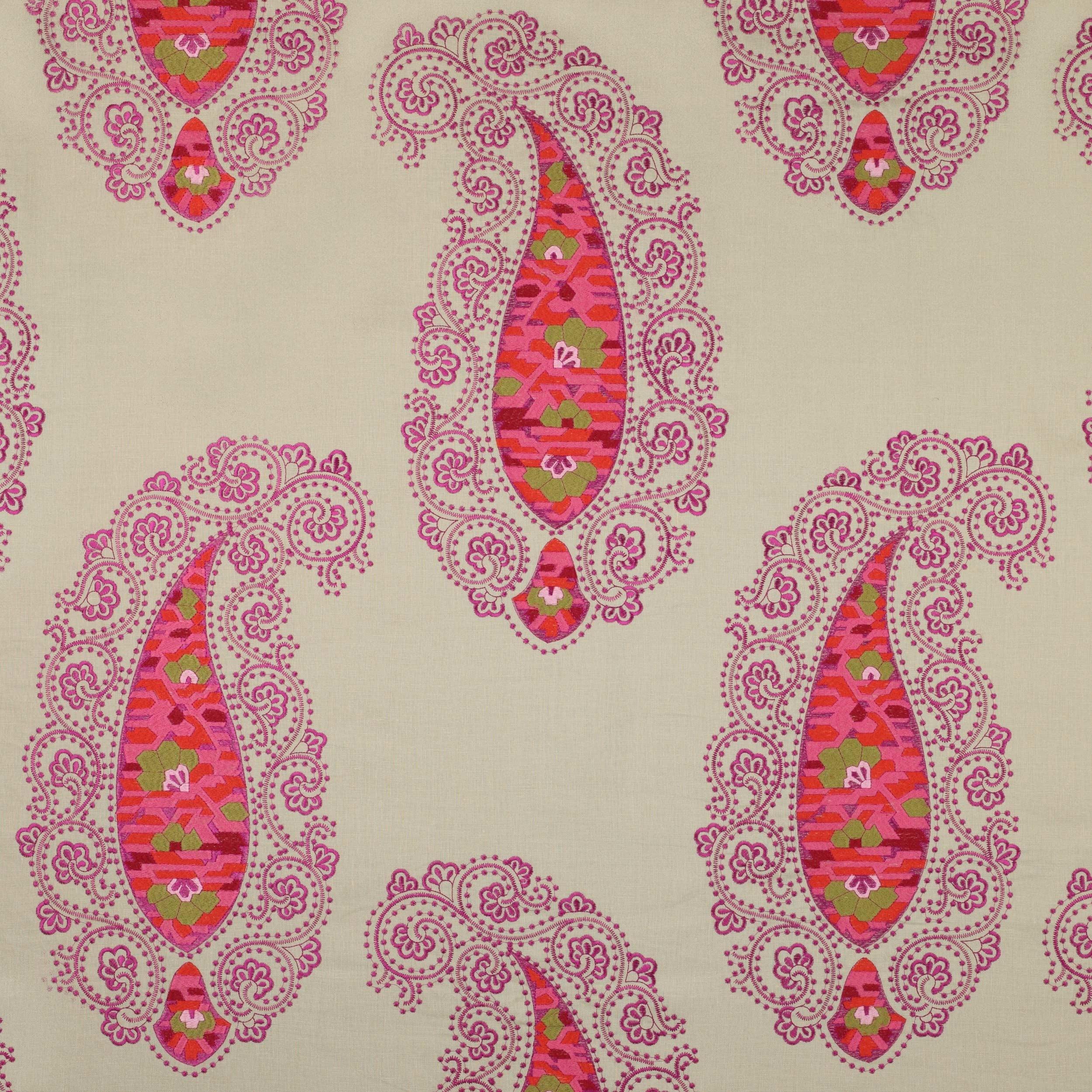 Tissu hisar s l ction de tissus etnique le boudoir des etoffes - Tissu manuel canovas ...