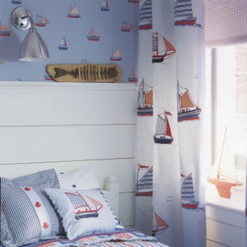 Jane Churchill - Sailing applique - decor