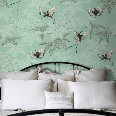 papier-peint-oiseaux-exotiques-grove-garden-2