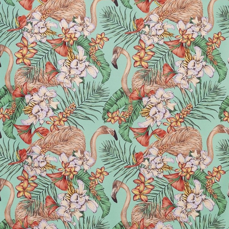tissu-tropical-flamand-rose-Cubana-FlamingoClub-osborne-F679001
