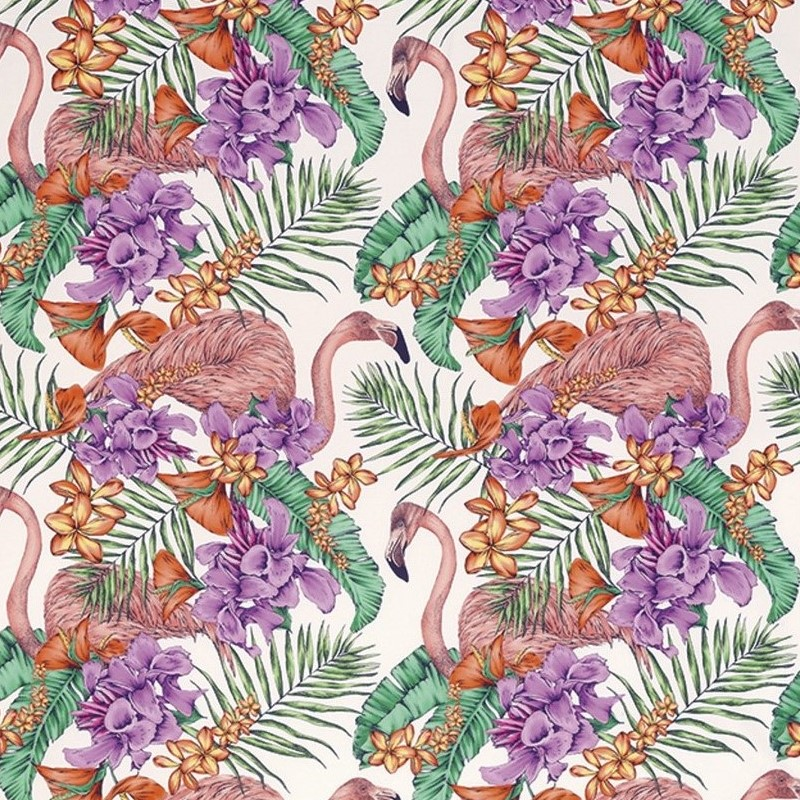 tissu-tropical-flamand-rose-Cubana-FlamingoClub-osborne-F679003