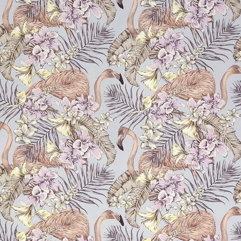 tissu-tropical-flamand-rose-Cubana-FlamingoClub-osborne-F679004