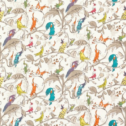 tissu-cockatoos-osborne-and-little-enfant