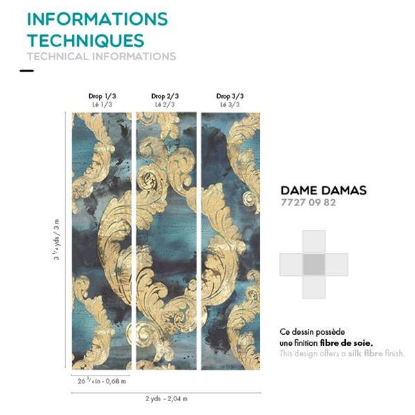 CASAMANCE-PANORAMIQUE-DAME DAMAS-FICHE TECHNIQUE