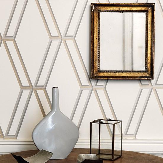 papier peint marquise papiers peints par diteurs romo le boudoir des etoffes. Black Bedroom Furniture Sets. Home Design Ideas